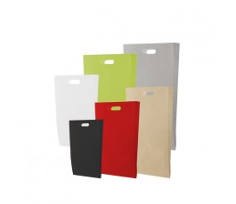 Bolsas de papel asa troquel estándar